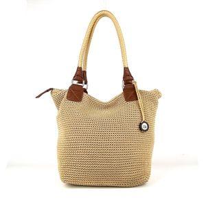 THE SAK Crocheted Tote Shoulder Bag Everyday Use
